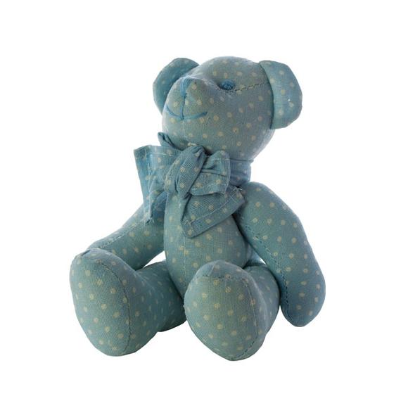 Мишка голубой маленький J1102001A