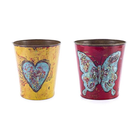 Набор декоративных горшков для цветов Mariposa