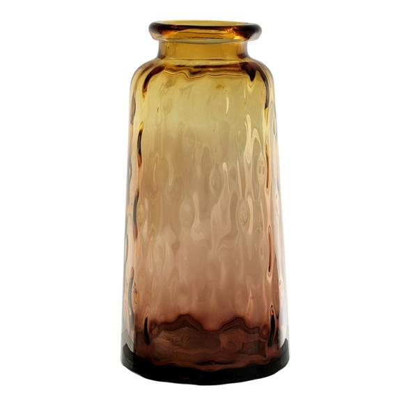 Ваза стеклянная (ручная работа) H39 MaxØ 19 см
