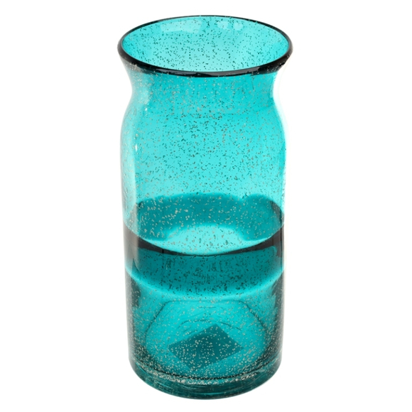 Ваза стеклянная (ручная работа) H30 MaxØ 12 см
