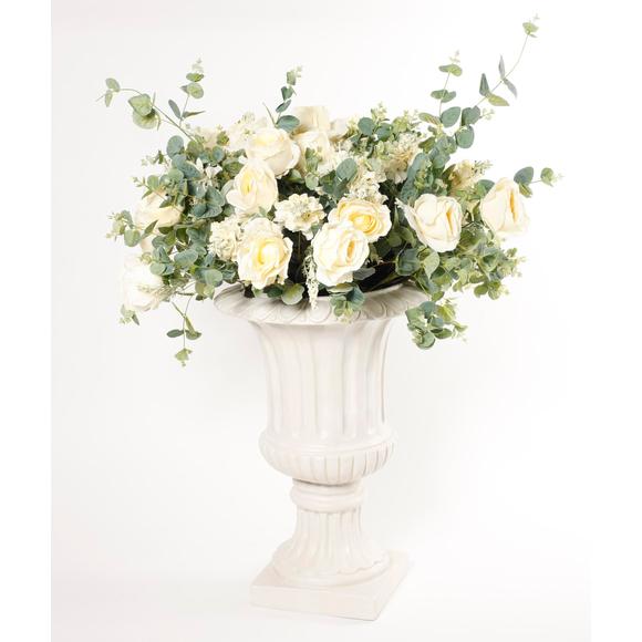 Ваза напольная с цветами Dolce rosa 90 см