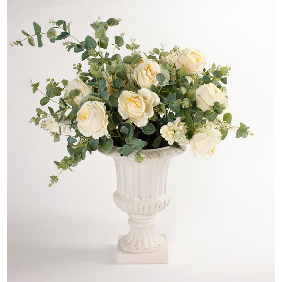 Ваза  с цветами Dolce rosa 70 см