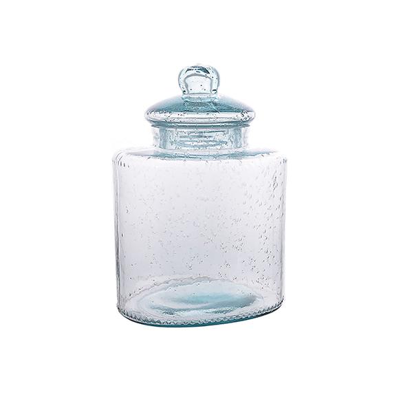 Банка стеклянная Пузырьки 28 см HL2022B-M
