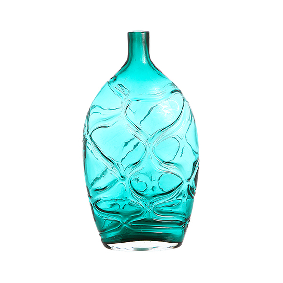 Ваза - бутылка Бирюза P1413F374